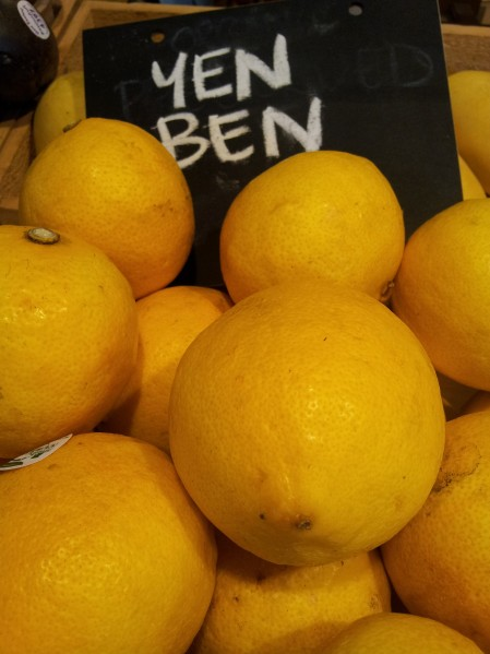 Yen Ben is an Australian variety developed from the Lisbon lemon.